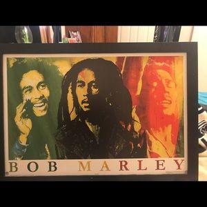 Bob Marley wall pic